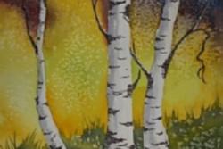 Colorado Landscape Watercolor Class