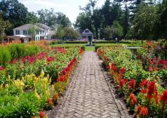 Fort Ticonderoga's King's Garden opens for the season on May 24 with a stunning display of annuals and perennials!