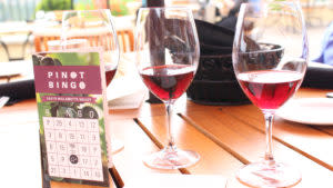 Pinot Bingo at King Estate by Rebecca Adelman