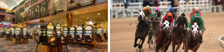 Gaming and Racing at Delta Downs Casino & Racetrack