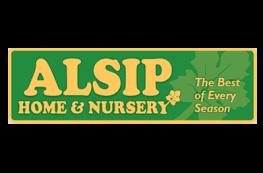 Alsip Home and Nursery logo