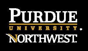 Purdue Northwest logo white