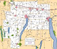 Ontario County Road Map
