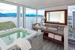 Ofuro Room Bathroom: Fairmont Pacific Rim