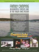 Mailer piece for Conesus Lake Campground