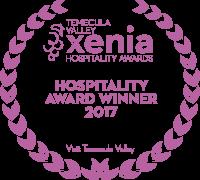 Hospitality Award Winner