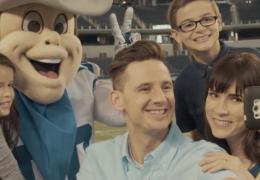 family photo shoot at AT&T Stadium