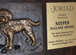 The coveted Keeper DeGlane Award goes to the winner of the two-day event