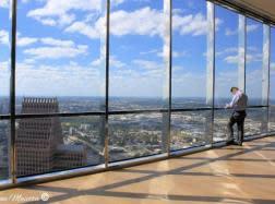 JPMorgan Chase Tower Sky Lobby in Houston