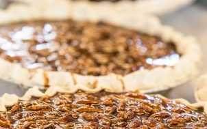 Midway Bakery Bourbon Chocolate Pecan Pie