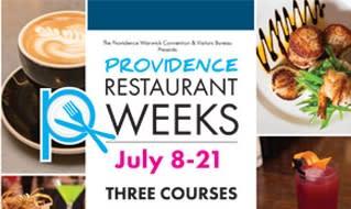 Restaurant Weeks 2018