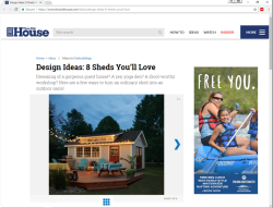 2017 Summer Marketing Campaign -  Online - ThisOldHouse.com - Pocono Whitewater