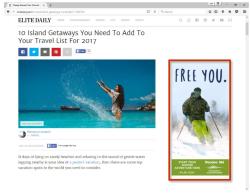 2017 Winter Marketing Campaign - Online - elitedaily.com - Ski Committee