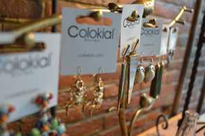 Colokial earrings