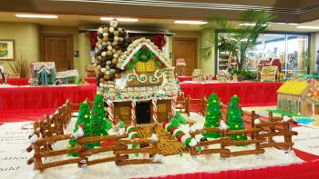 Gingerbread I'll Be Home for Christmas