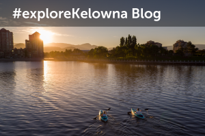 #exploreKelowna Blog Button