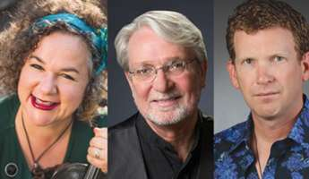 Cal Poly Faculty Recital: Brynn Albanese, Violin, with Ken Hustad, Bass, and John Astaire, Percussion