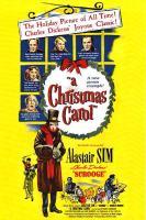 a christmas carol - PAC movie poster
