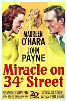 miracle on 34th street PAC movie poster