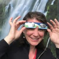 Solar Eclipse Glasses by Taj Morgan