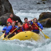 McKenzie River Rafting by TnT