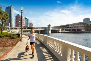 Tampa Bay's bounty of outdoor activities and low costs make it a frugal traveler's dream destination.