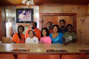 The staff of Eddie's Restaurant