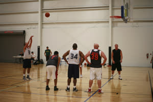 Shoot hoops and support the Lifetime Fitness Project - it's a win-win! (photo courtesy of Michael Kevin Daly)