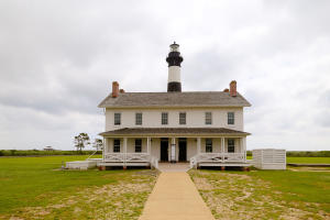 Bodie Island Lighthouse and Light keeper's Quarters, North Carolina