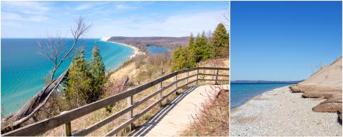 Empire Bluff Trail at the Sleeping Bear Dunes