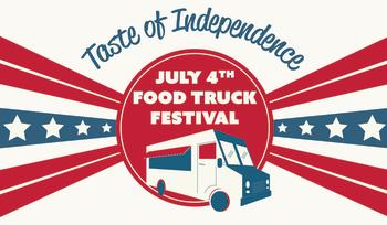 July 4th Festival Logo