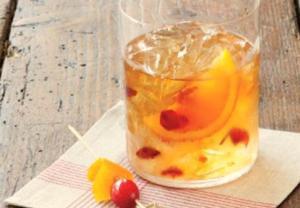 cranberry bourbon drink