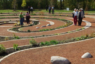Carol Shields Memorial Labyrinth