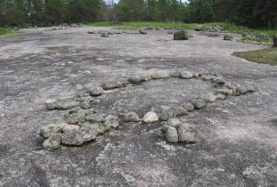 Tours to Bannock Point Petroforms