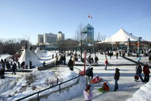 The Forks Winter