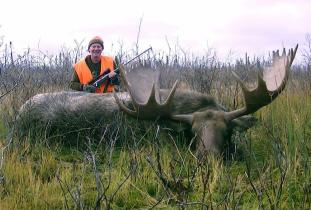 Agassiz Outfitter, moose hunting 3