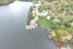 Trail End Camp Aerial