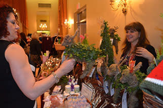 Shopping at the Christmas Shop Foundation's annual The Perfect Gift event