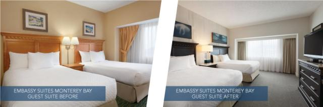 Embassy Suites before after