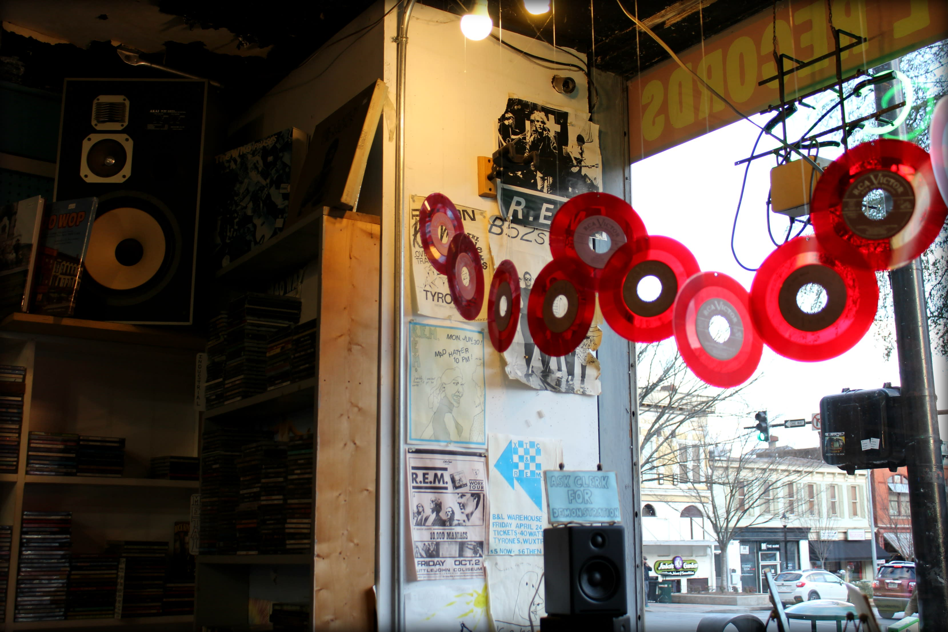 Wuxtry Records Inside