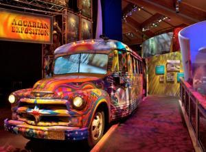 Museum at Bethel Woods Interior Bus