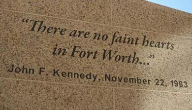 JFK Plaque