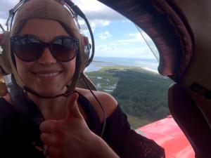 Thumbs Up for Myrlte Beach Biplane Tours