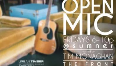 Open Mic Urban Timber