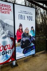 2017 Winter Co/Op - Transit - NJT 3-Sheet Posters   Pocono Mountains Visitors Bureau