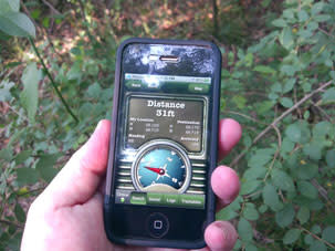 iPhone Geocaching