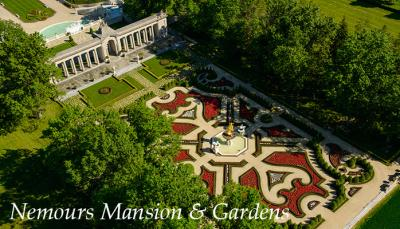 Nemours Mansion and Gardens, Wilmington, Delaware
