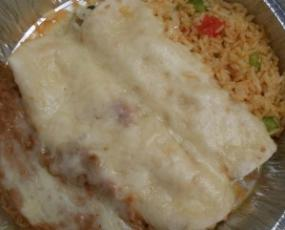 The Seafood Burrito is another option at Bandidos.