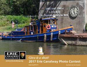 2017 Erie Canalway photo contest