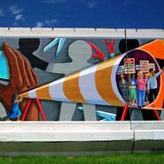 Adam Mayhew Mural